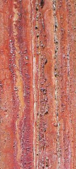 Red Travertine