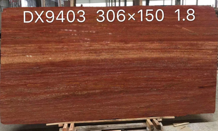 Red Travertine (3)-NBS STONE